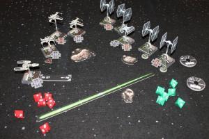 X-Wing Spielbild