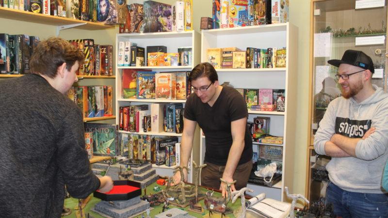Erstes hauseigenes Warhammer 40k Turnier startet durch